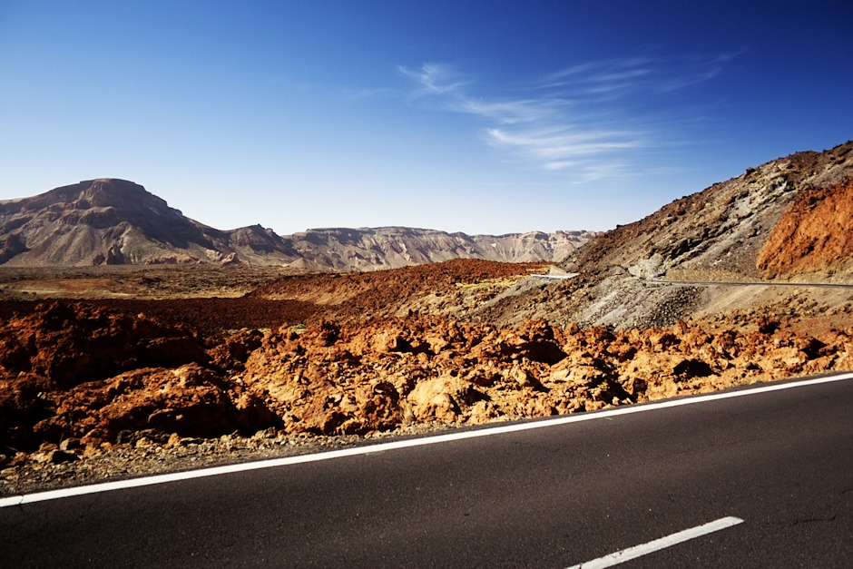 Kaldera Caňadas směrem na jihozápad