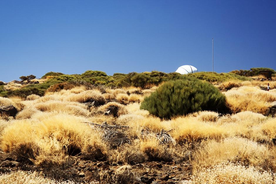 Areál observatoře