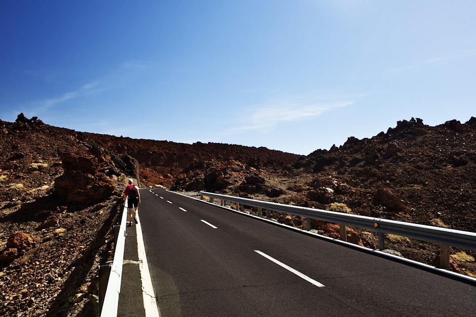 Cesta podél Montaňy Blanca