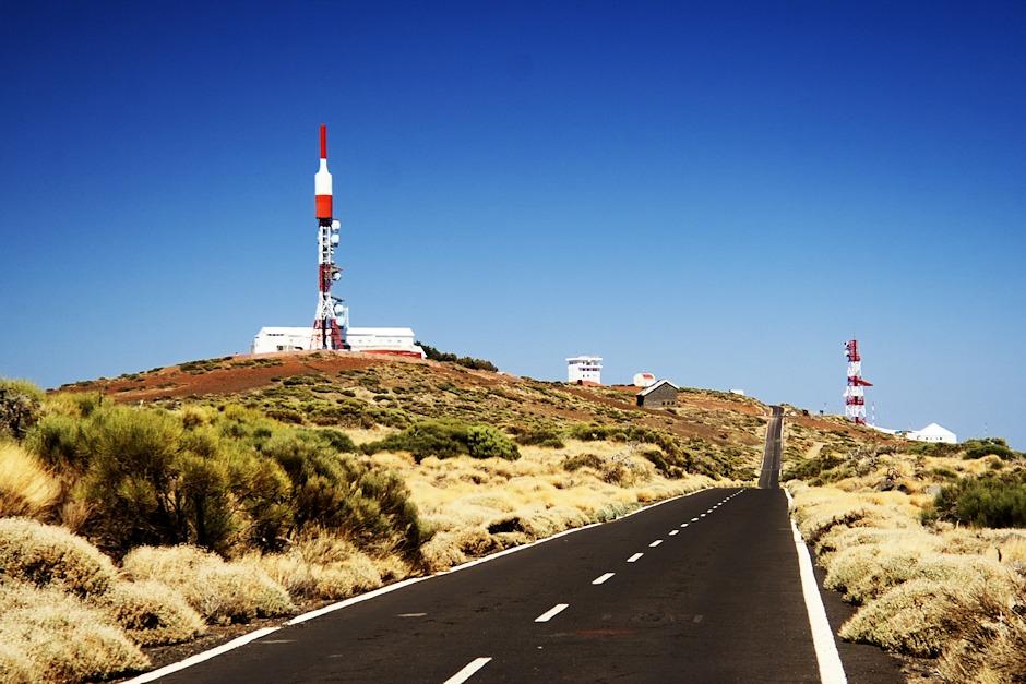 Meteorologická stanice u observatoře Izaňa