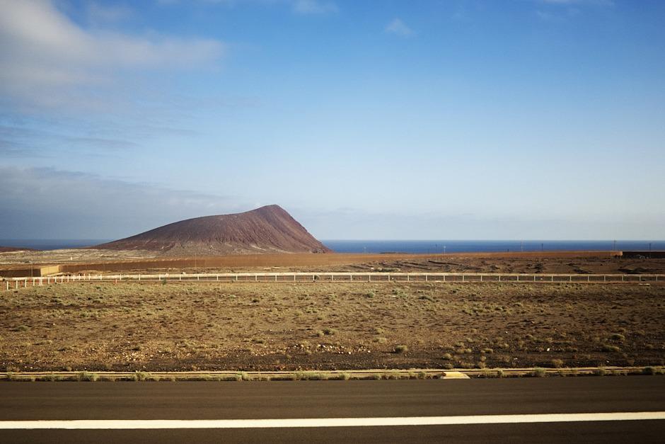 Montana Roja byla tím prvním, co jsme po přistání z Tenerife viděli, a bude i tím posledním, co uvidíme před startem