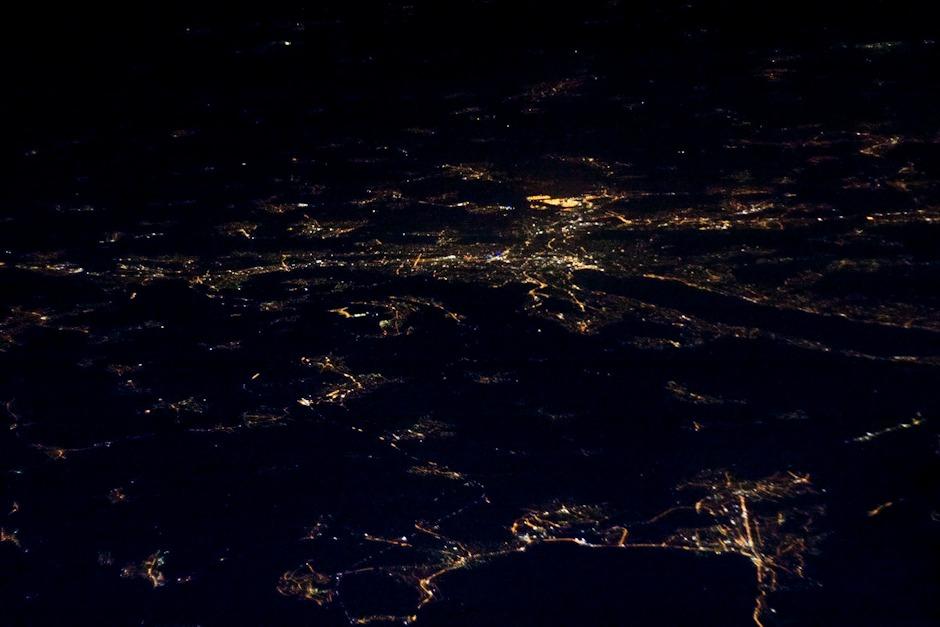 Švýcarsko, v popředí Zug, vzadu Curych
