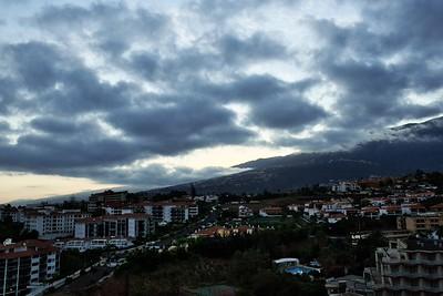 Rozbřesk nad Valle de la Orotava. Náš poslední.