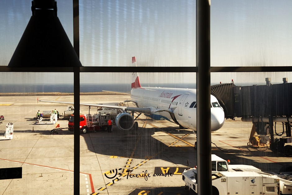 Letadlo už je připraveno. Bohužel. Tenerife amante...