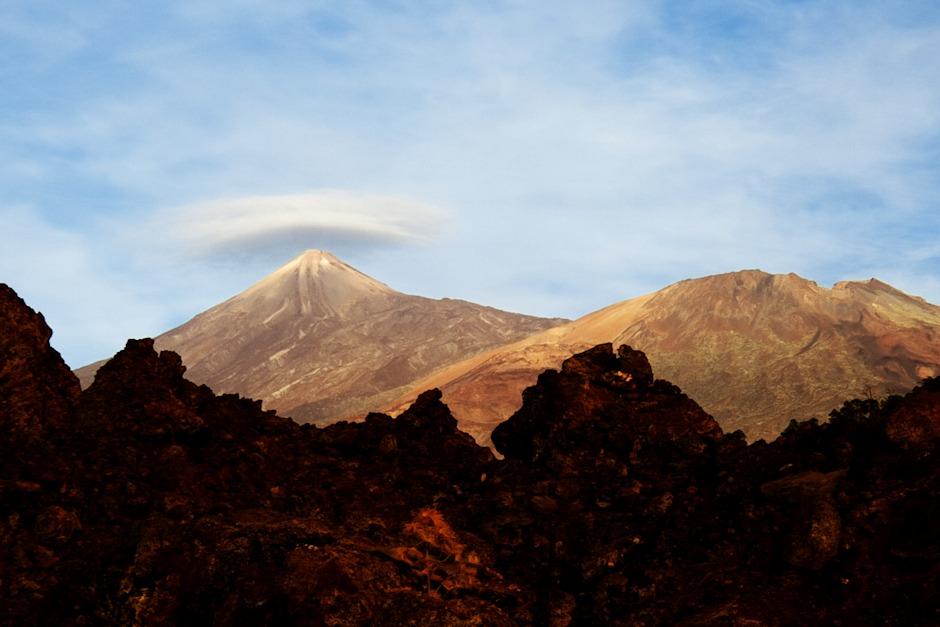 Nad Teide se opět tvoří lenticularis