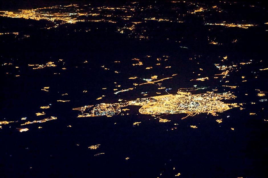 Španělsko, Vitoria, v pozadí vlevo Bilbao
