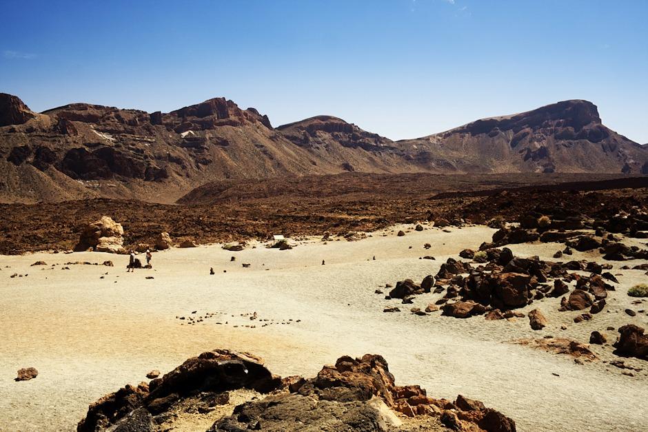 Las Caňadas del Teide