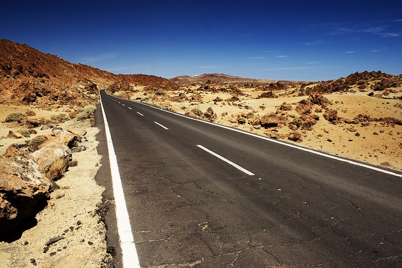 Silnice v Minas de San Jose