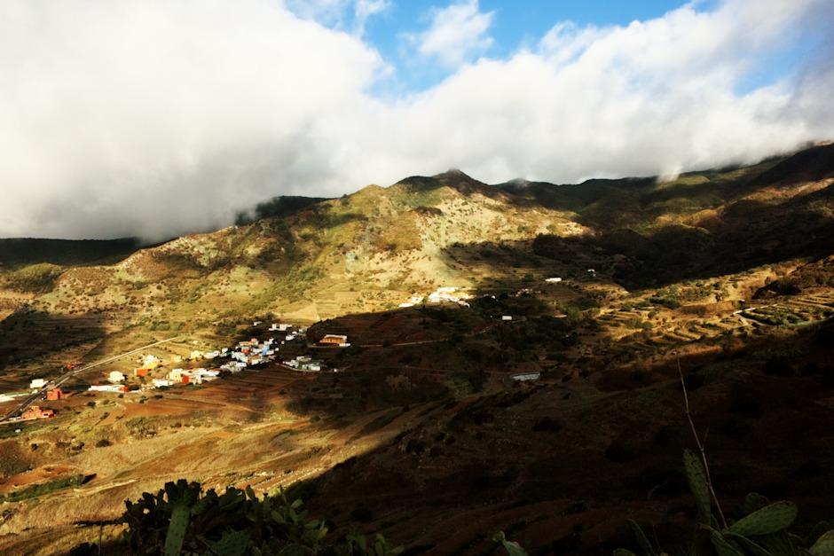 Vesnice Las Portelas