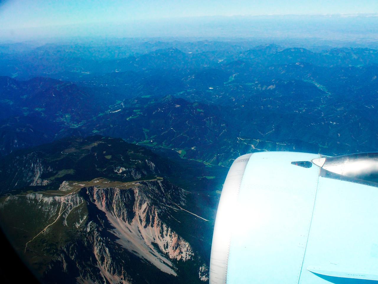 Rakousko, pravděpodobně hora Schneeberg