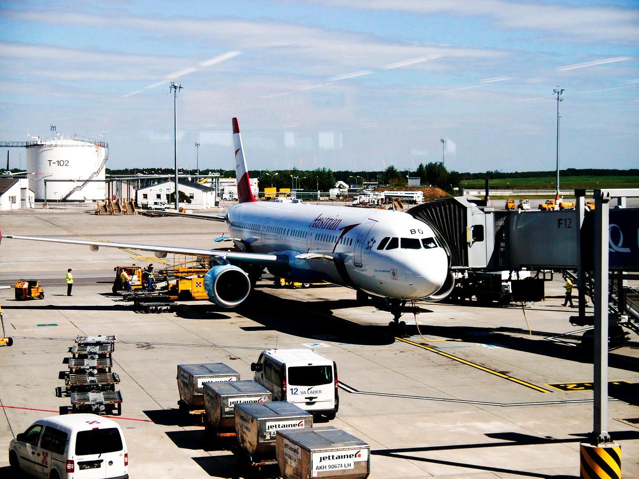 Naše letadlo z gate
