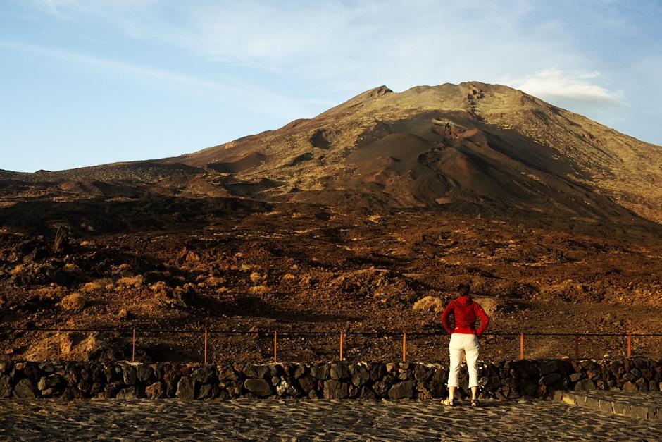 Trofo versus sopka. Konkrétně tedy Pico Viejo.