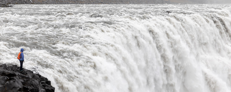 Dettifoss waterfall - North Iceland