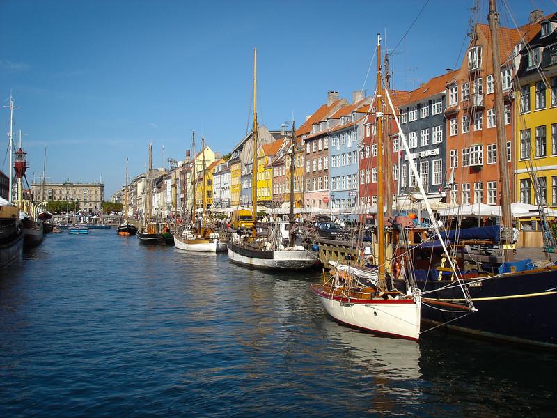 Copenhagen canal.