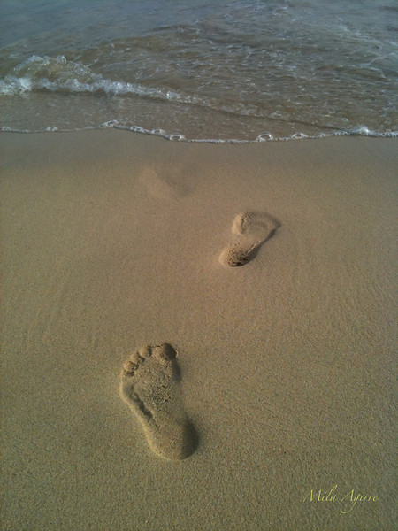 The footstep walk