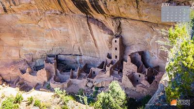 2020 National Parks Calendar - 07 July