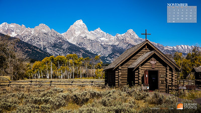 2020 National Parks Calendar - 11 November