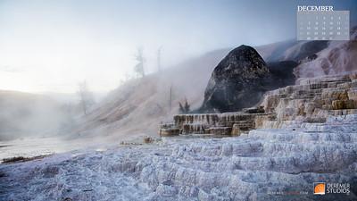 2020 National Parks Calendar - 12 December