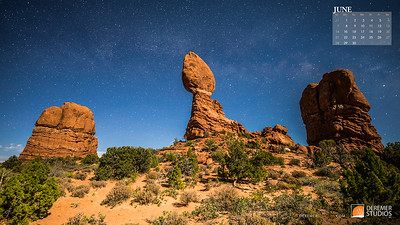 2020 National Parks Calendar - 06 June