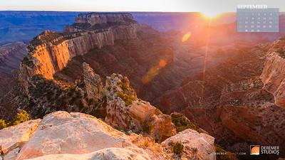 2020 National Parks Calendar - 09 September