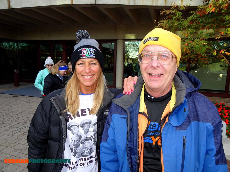 Eileen Skisak (LaGrange) and Karl Johnson (Woodridge)
