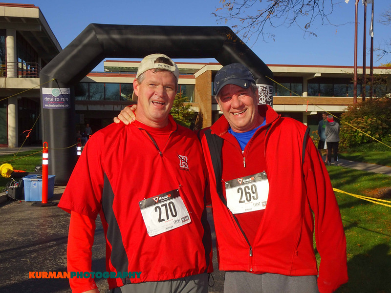 Randy Pyle (Hinsdale) and Ross Hurst (Clarendon Hills)
