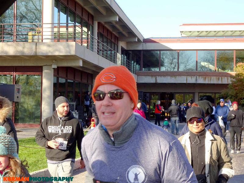 Roger Keys running in Freedom Golf Association 5k Run/Walk