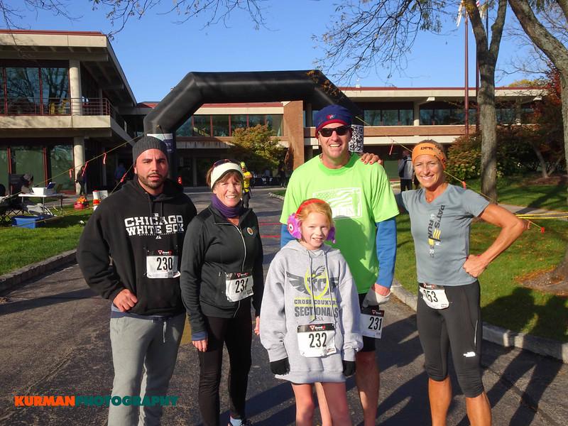Michael Bellino (Villa Park), Judy Hrad (Chicago), Kelly Fergus (Chicago), Bob Fergus (Chicago), and Eileen Skisak (LaGrange Park)
