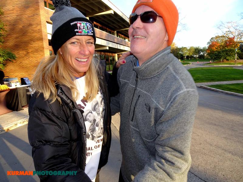 Eileen Skisak (LaGrange) and Roger Keys (Northbrook)