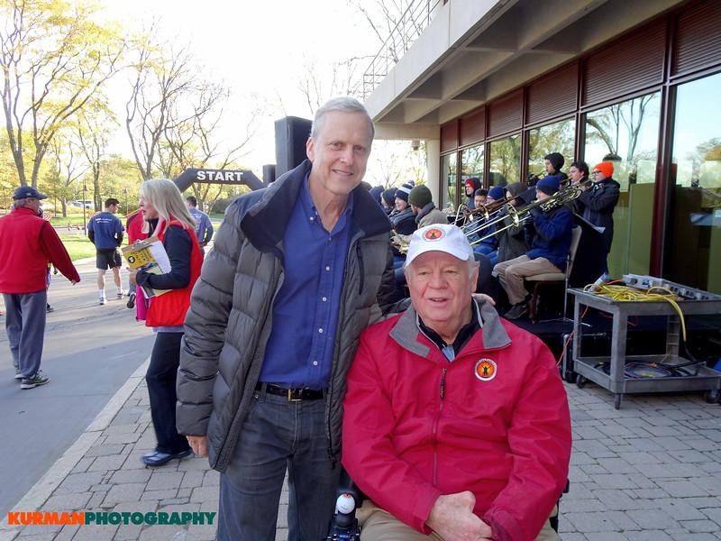 Bob Sirott, WLS Radio, and E. Q. Sylvester, Freedom Golf Association