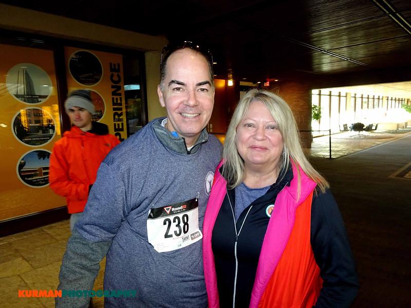 Roger Keys (Northbrook) and Sally Ruecking (Elmhurst)