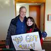Bob Sirott and Elena Myers, WLS Radio