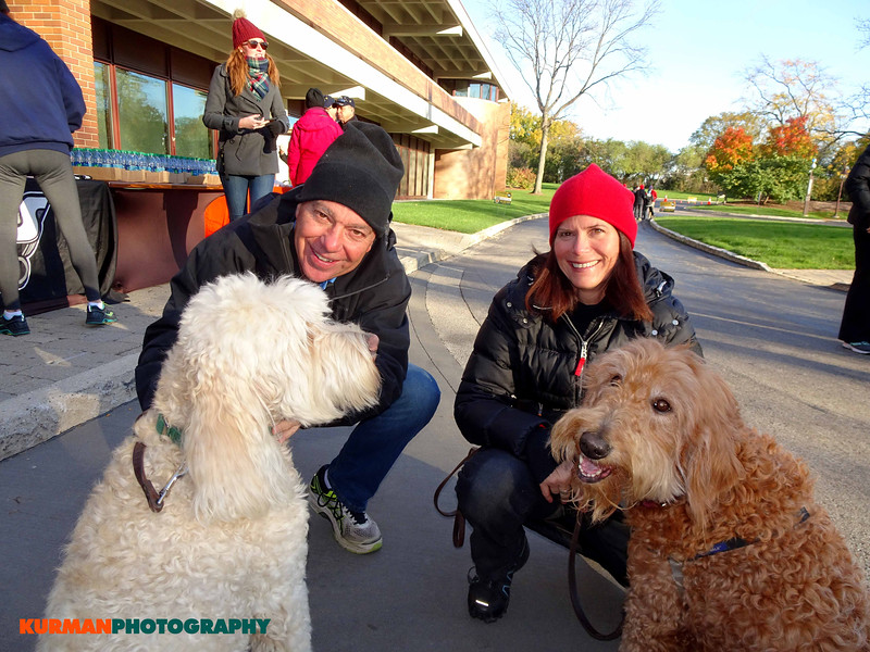 Mike and Deanna Munroe (Addison) with Maizey and Lucy