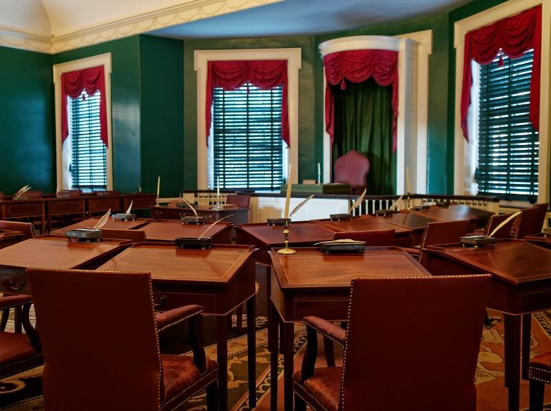 Federal Hall, Senate Chamber.