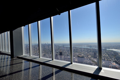 ......and there you are at the  top of the Freedom Tower.