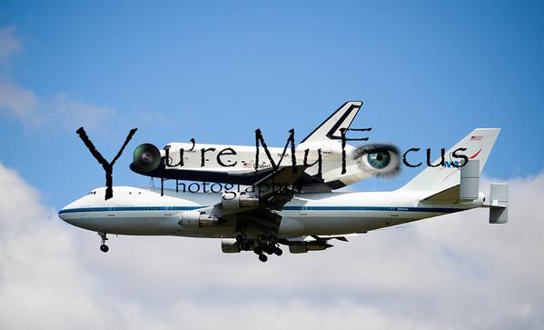 Space Shuttle Enterprise Arrival
