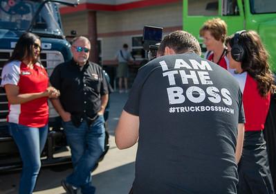 Bandit Big Rigs at Bristol Motor Speedway Media Day