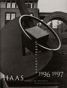HAAS School of Business Annual Report Cover, 1997