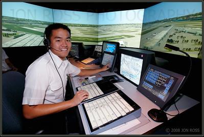 Broward College  Aviation Institute Photoshoot (Airfield Operations)MIA ATCT Simulator | Miami, FL Canon EOS 5D | Canon EF 16-35mm f/2.8 L USM | Canon 580EX Speedlight.4s | f/7.1 @ 16mm | ISO 400