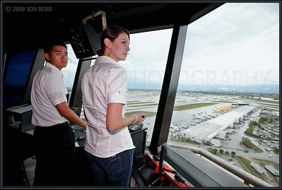 Broward College  Aviation Institute Photoshoot (Airfield Operations)MIA ATCT | Miami, FL Canon EOS 5D | Canon EF 16-35mm f/2.8 L USM | Canon 580EX Speedlight1/400s | f/5.6 @ 16mm | ISO 320