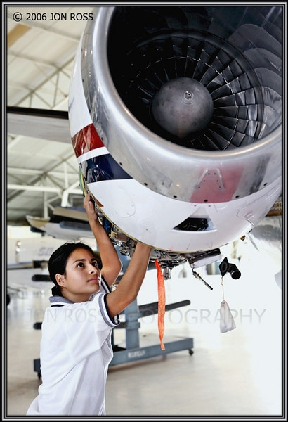 Broward College  Aviation Institute Photoshoot (Aircraft Mechanic)Banyan FBO, FXE Airport | Ft. Lauderdale, FL Canon EOS 5D | Canon EF 24-70mm f/2.8 L USM | Canon 580EX Speedlight 1/60s | f/5.6 @ 55mm | ISO 250