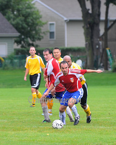 Tri County Soccer League Plyaoffs and Chicago Kickers facility