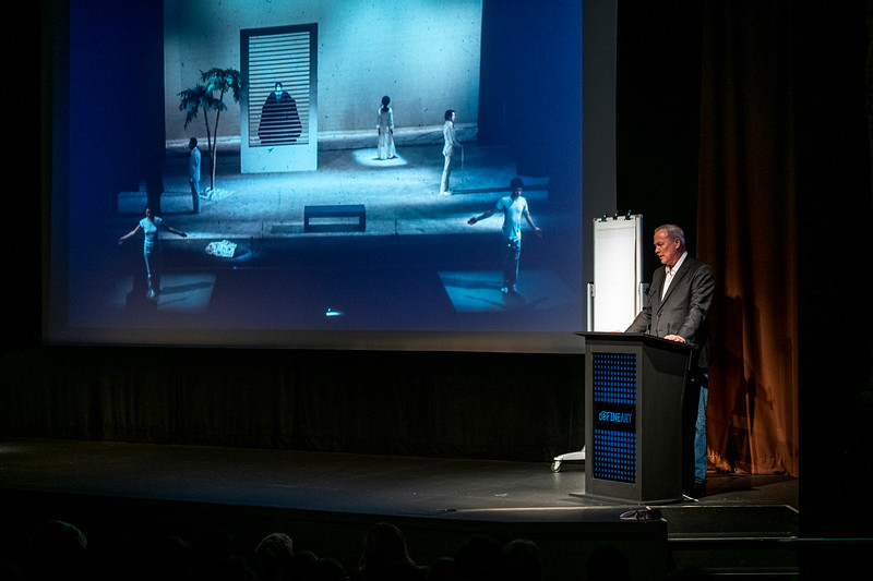 SCAD Atlanta – Winter 2020 – deFINE Art – Robert Wilson – Lecture – SCADshow – Photography Courtesy of SCAD