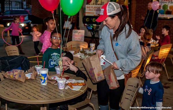 Freemans Mill Elementary Sonic Spirit Night Feb 2018