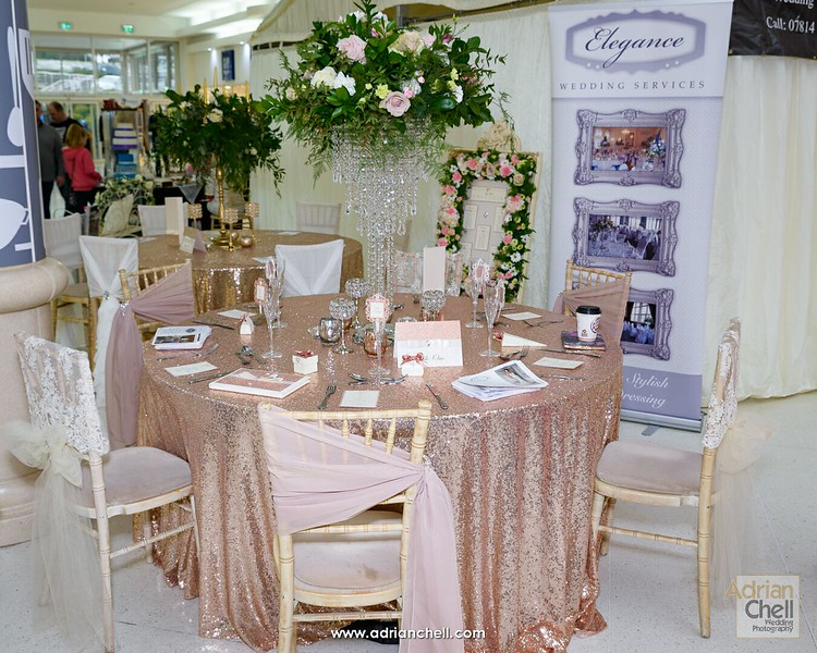A beautiful table display from Elegance Wedding Services