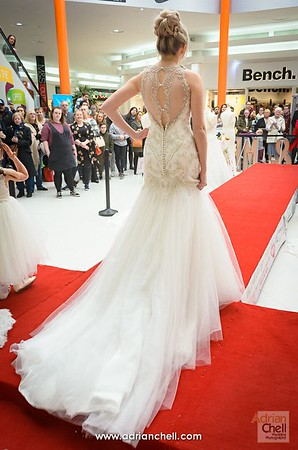 A spectacular gown