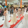 All the lovely gowns on the catwalk