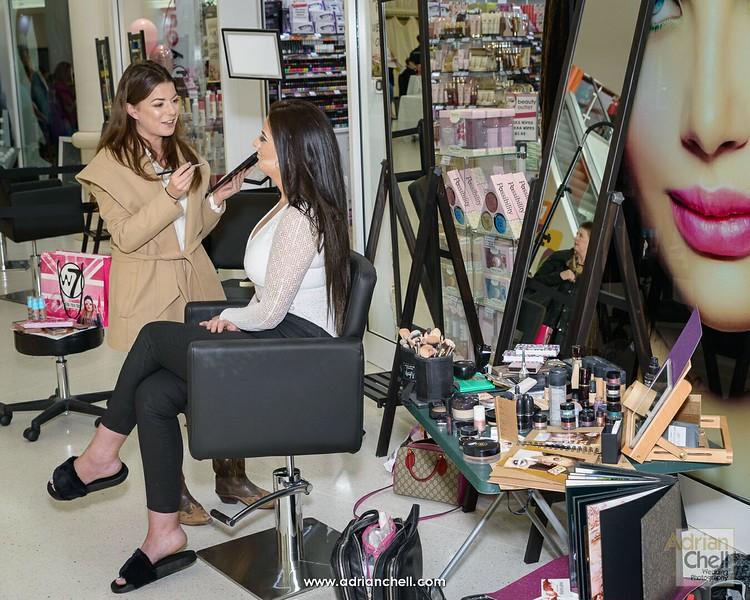 Jenny Sherratt, make-up artist