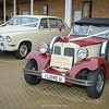 Heritage Wedding Cars' Beauford and Daimler cars