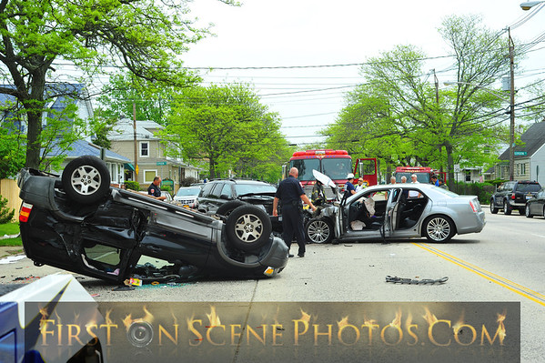 Four injured in Freeport crash